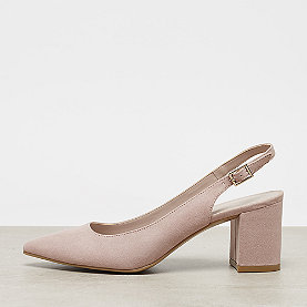 ONYGO Slingback Pumps mid block heel rose