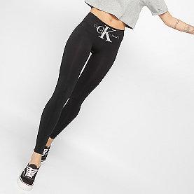 Calvin Klein Leggings logo high waist black