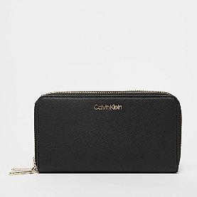 Calvin Klein Must Large Double Zip Around black