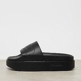 Superga 1919 - Platform Pool Slide total black