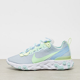 618bbe9382706b NIKE React Element 55 white frosted spruce-barely volt