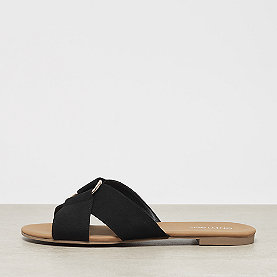 ONYGO Cross Strap Flats black