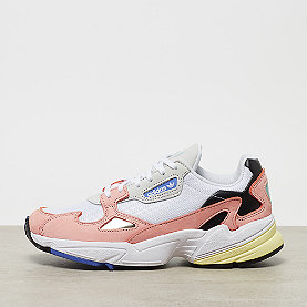 1d1c23b44d5a74 adidas Falcon white trace pink black real lilac silver met mint