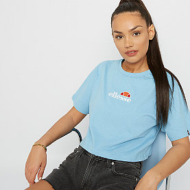 Ellesse Fireball EMB Crop T-Shirt light blue