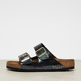 Birkenstock Arizona shiny snake black/multi