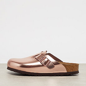 Birkenstock Boston metallic copper