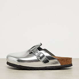 Birkenstock Boston metallic silver