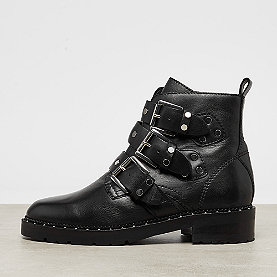Bronx Kingdom Buckled Boot black