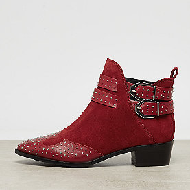 Bronx Tex Buckle Boot red