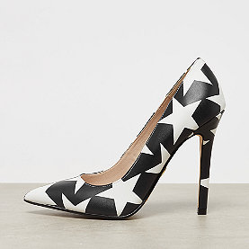 Buffalo Amica Pumps black with white stars