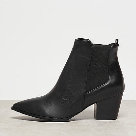 Buffalo Bootie Chelsea Pointed Last black