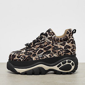 Buffalo London Buffalo Classics Low Leopard satin