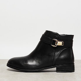 Buffalo Flat Ankle Boot Buckle black