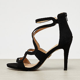 Buffalo High Sandal Back Zipper black