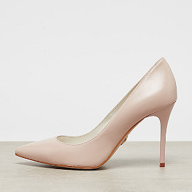 Buffalo Mid Heel Pointed Pumps nude