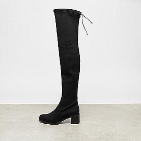 Buffalo Overknee Boot Mid Heel black