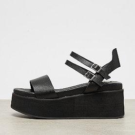 Buffalo Platform Sandal Vamp Straps black