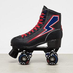 Buffalo Buffalo x Rio Roller Skates black/red blue flash