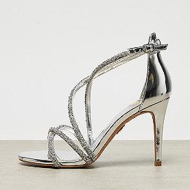 Buffalo Sandal Glitter Straps silver