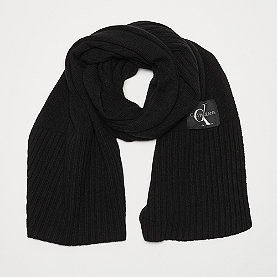 Calvin Klein Basic Knitted Scarf black beauty