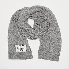 Calvin Klein Basic Women Knitted Scarf mid grey heather