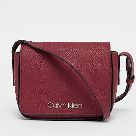Calvin Klein CK Base Small Crossbody red rock