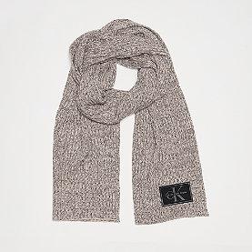 Calvin Klein Basic Rib Scarf grey melange
