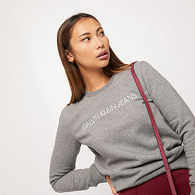 Calvin Klein Institutional Regular Crew Neck grau