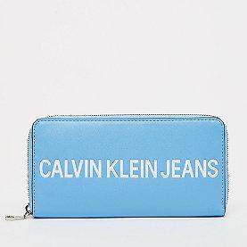 Calvin Klein Large Ziparound alaskan blue