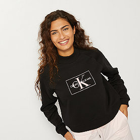 Calvin Klein Outline Monogram Crew Neck black