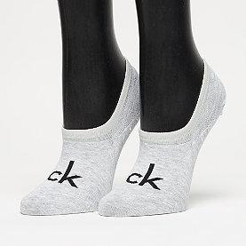 Calvin Klein Kourtney Modern Cotton Logo Liner pale grey heather