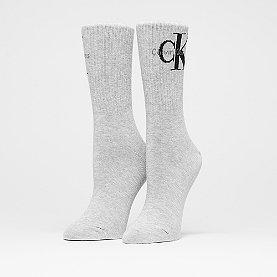 Calvin Klein Reissue Short Crew pale grey heather