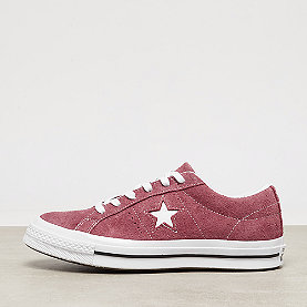 Converse One Star OX deep bordeaux/white/white