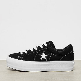 Converse One Star Platform OX black