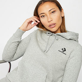 Converse Star Chevron EMB PO Hoodie vintage grey heather