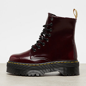 Dr. Martens Vegan Jadon Cherry Red Cambridge Brush