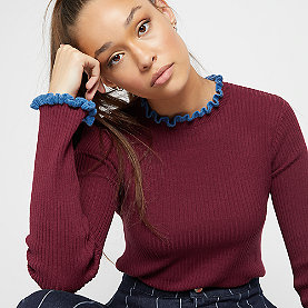 Edited Andrea Jumper bordeaux