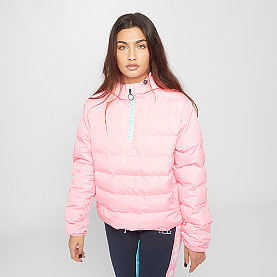 Ellesse Filetta 1/2 Zip Padded Jacket pink
