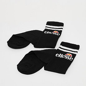 Ellesse Pullo 3 Pack Socks black