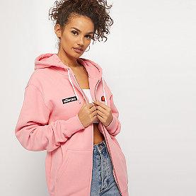 Ellesse Serinatas Full Zip Hoodie soft pink