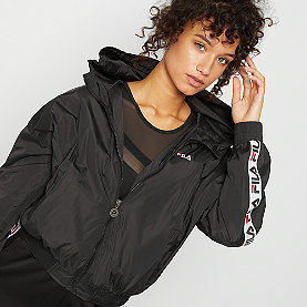 Fila TILDA Hooded Wind Jacket black