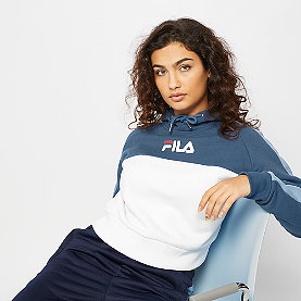 Fila Landers Hooded Sweat ensign blue/w-blue shadow