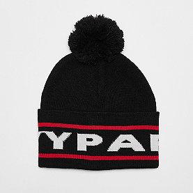 IVY PARK Cuff Knit Big Logo Beanie black