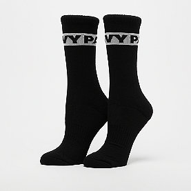 IVY PARK Logo Graphic Crew Socks 2 Pack black