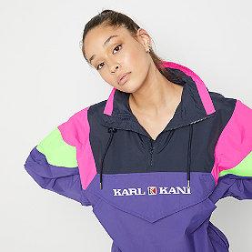 Karl Kani Retro Block Windrunner purple/pink/green