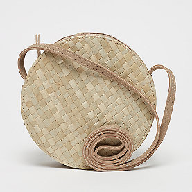 Mae & Ivy Waikiki Circle Crossbody Bag straw