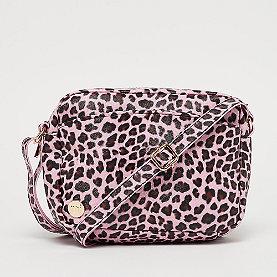Mi-Pac Gold Cross Body Bag - Cheetah pink