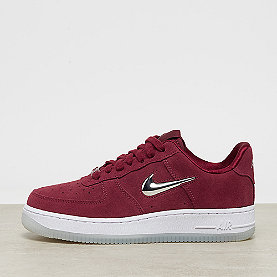 NIKE Air Force 1 '07 Premium LX team red/metallic silver-white