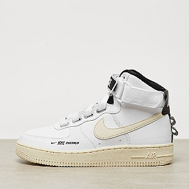 NIKE Air Force 1 High Utility white/light cream-black-white
