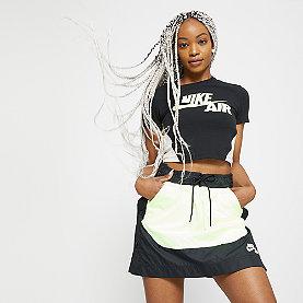 NIKE NSW Skirt black/barely volt
